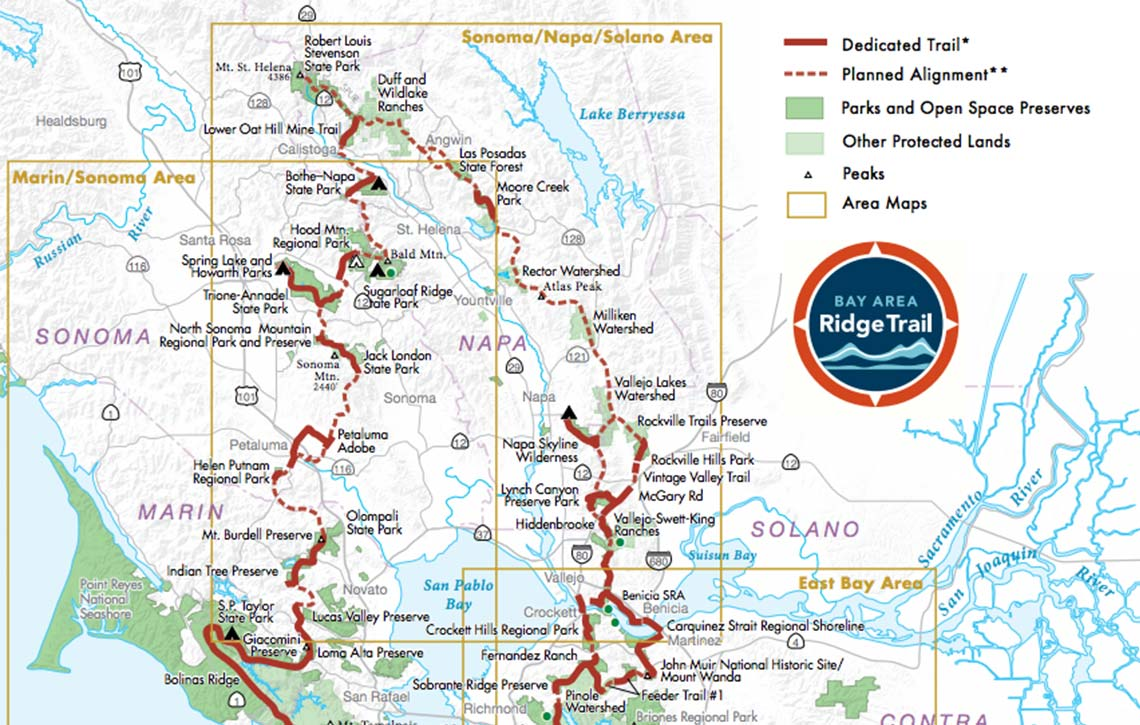 Regional Camping Map Bay Area Ridge Trail Последние твиты от bay area ridge trail (@ridgetrail). regional camping map bay area ridge trail