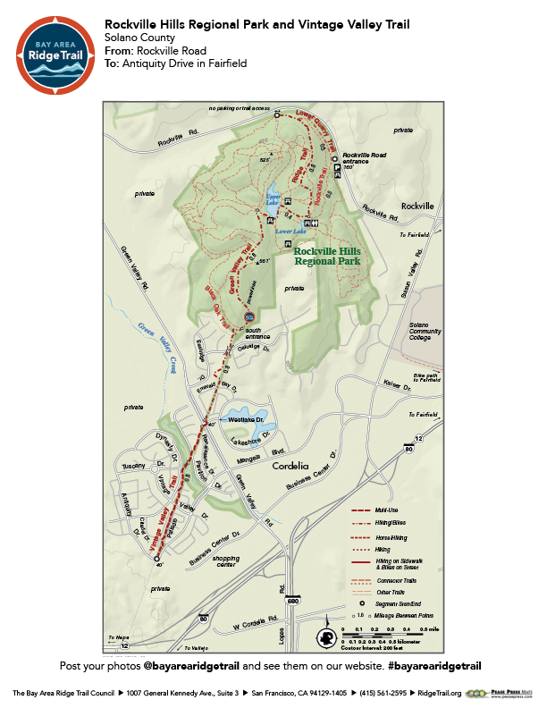 Rockville Hills Regional Park and Vintage Valley Trail