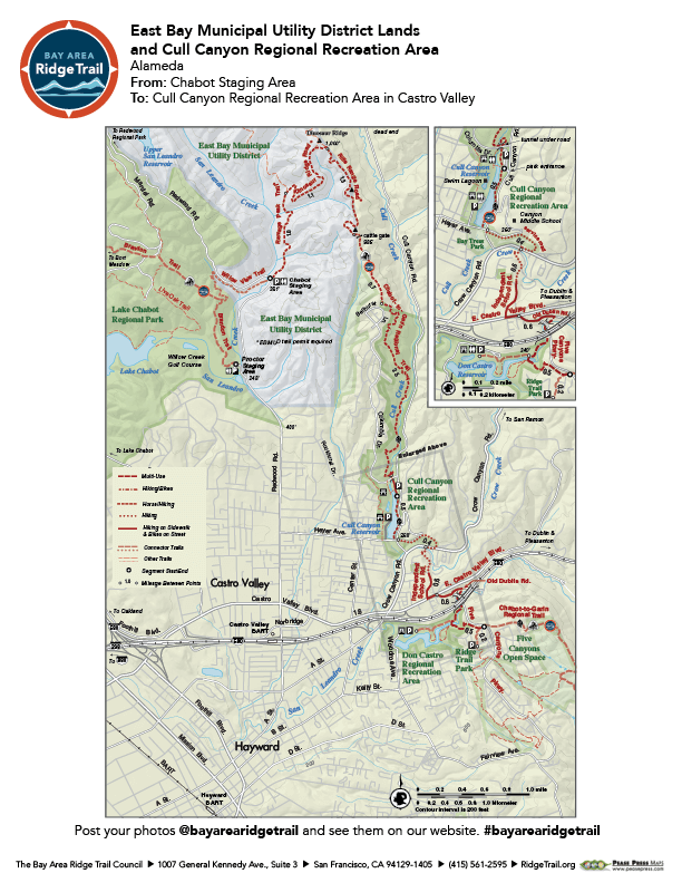 East Bay Municipal Utility District Lands to Cull Canyon