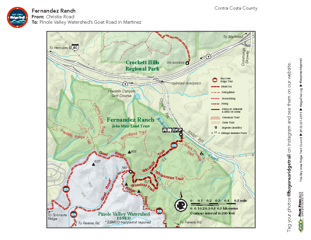 Fernandez Ranch and Pinole Valley Watershed