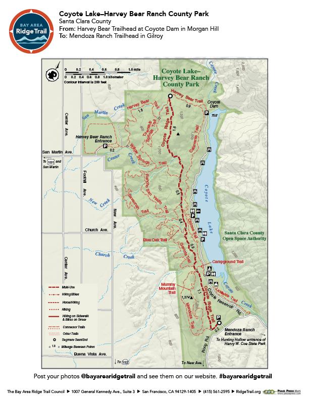 Coyote Lake-Harvey Bear Ranch County Park