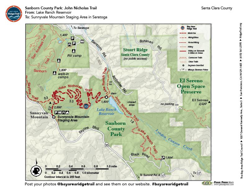 Sanborn County Park: John Nicholas Trail