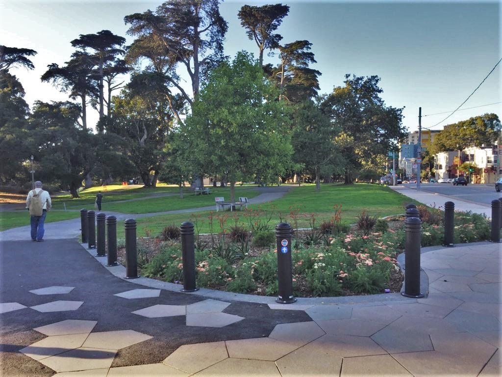 entrance to golden gate park