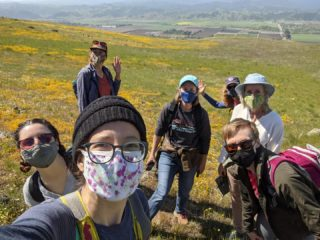 Ridge Trail staff outing today at Coyote Ridge Open Space Preserve in Morgan Hill, a future Ridge Trail location coming in 2023! This spot has amazing sweeping views of the valley and surrounding peaks, wildflowers and the Bailey Ave. project area (link in bio). Thank you to @open_space_authority for the access today and continuing to be an amazing partner on these projects!