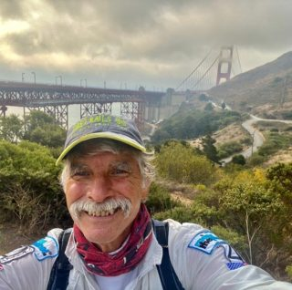 Former Ridge Trail board member Chuck Wilson just became the first person to complete the @pacificcoasttrailruns TOGETHERelay AND simultaneously completed all of the Ridge Trail in just 40 days! Congratulations Chuck on this awesome accomplishment and welcome to the Ridge Trail circumnavigator circle! Hear more about Chuck's experience on the trail at @ianhikes podcast. #bayarearidgetrail #trails #trailrunning #bayarea