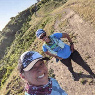 Ridge Trail board members Luana and Nargis recently had a great time out on the Nimitz Way section of the trail in Berkeley. They enjoyed their run complete with stunning views and wildlife sightings, including a hawk and coyote!   To plan your trip to this part of the Ridge Trail, visit the link in our bio!  #bayarearidgetrail #trails #outdoors #nature #hiking #biking #equestrian #bayarea